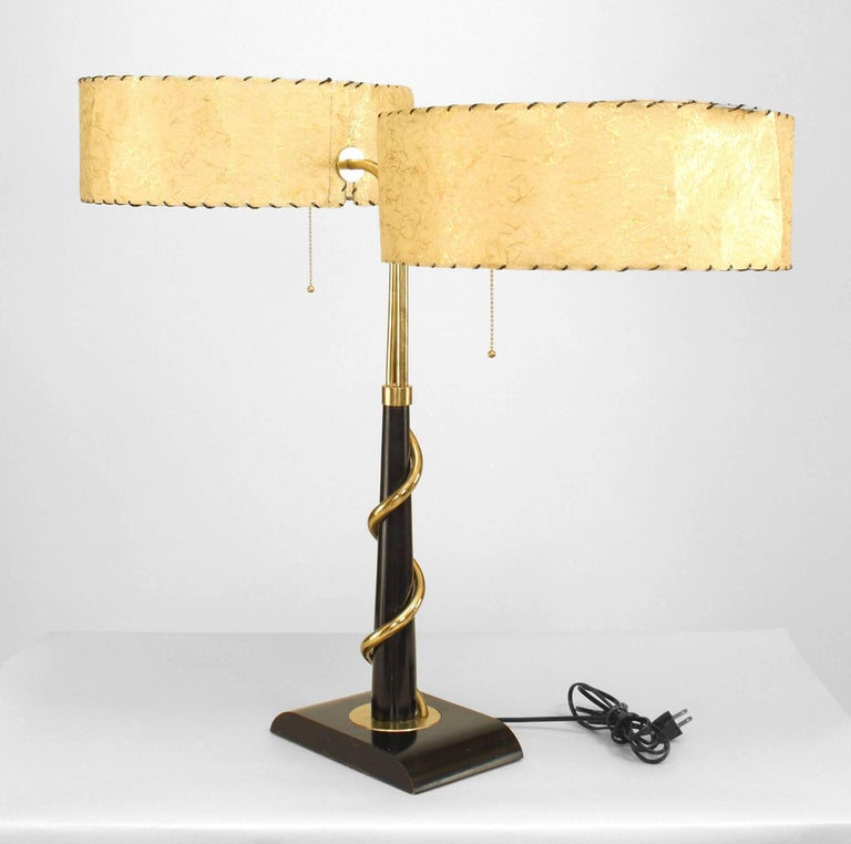 Mid-Century American Student Lamp In Good Condition For Sale In New York, NY