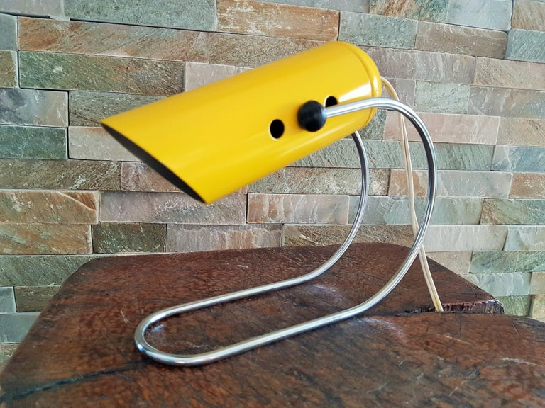 Midcentury Angelo Lelli Table Desk Lamp, Italiy 1950s For Sale 3
