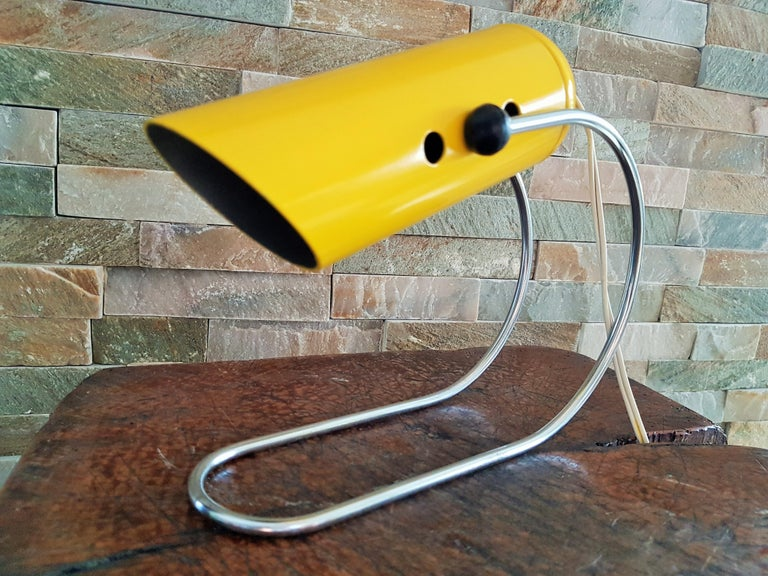 Midcentury Angelo Lelli Table Desk Lamp, Italiy 1950s For Sale 4
