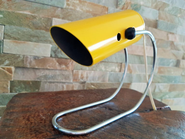Midcentury Angelo Lelli Table Desk Lamp, Italiy 1950s For Sale 5