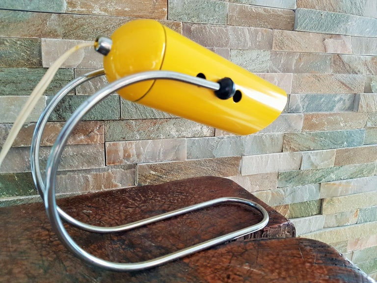 Midcentury Angelo Lelli Table Desk Lamp, Italiy 1950s For Sale 6