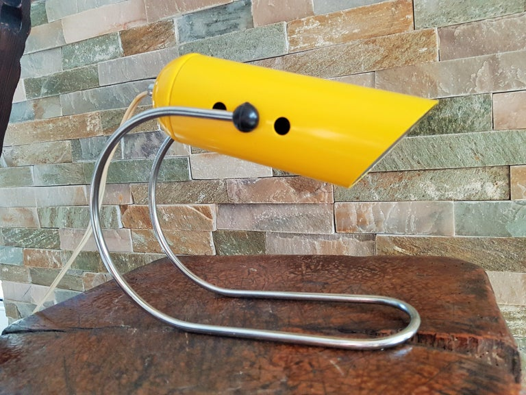 Midcentury Angelo Lelli Table Desk Lamp, Italiy 1950s For Sale 8