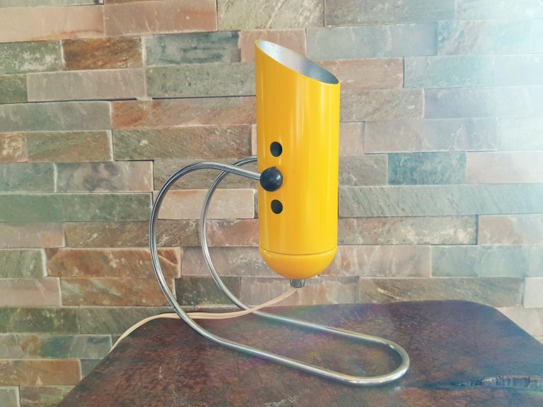 Midcentury Angelo Lelli Table Desk Lamp, Italiy 1950s For Sale 11