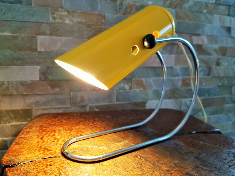 Midcentury Angelo Lelli Table Desk Lamp, Italiy 1950s For Sale 13