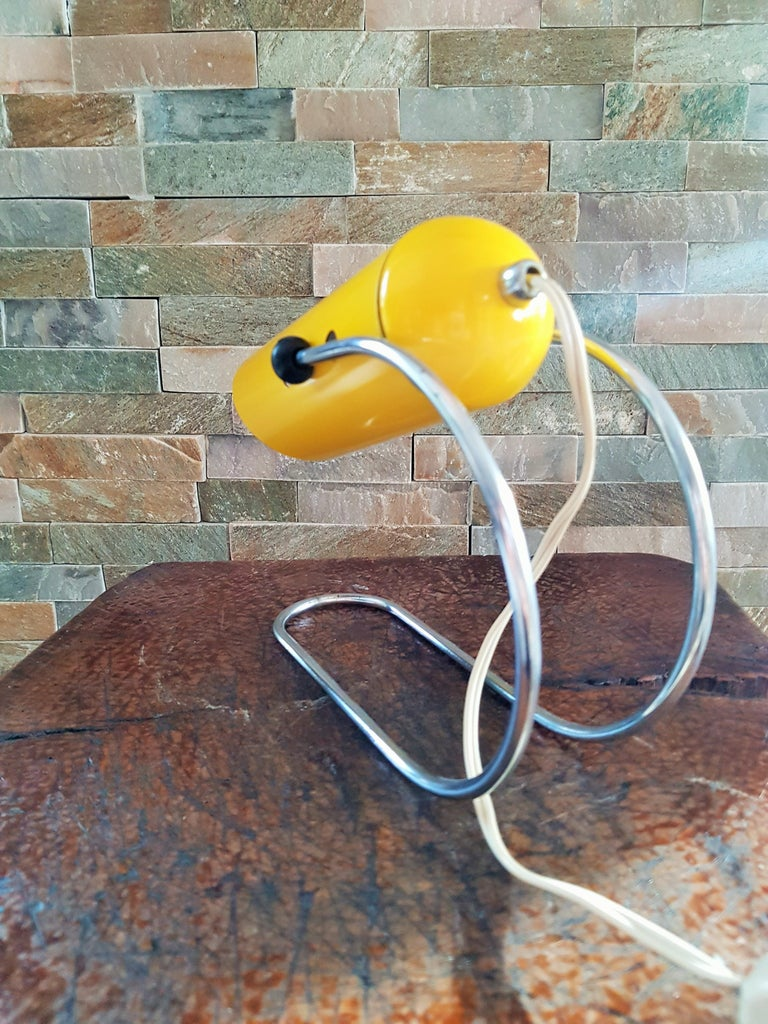 Mid-Century Modern Midcentury Angelo Lelli Table Desk Lamp, Italiy 1950s For Sale