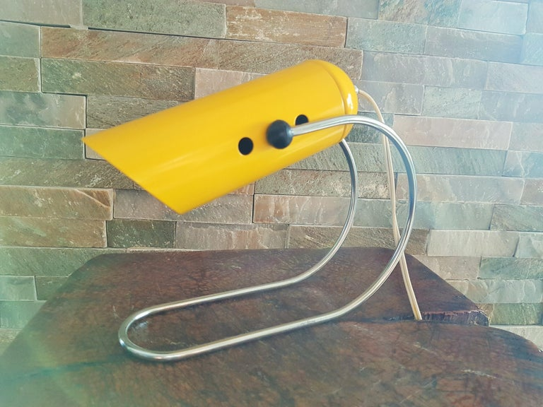 Midcentury Angelo Lelli Table Desk Lamp, Italiy 1950s For Sale 2