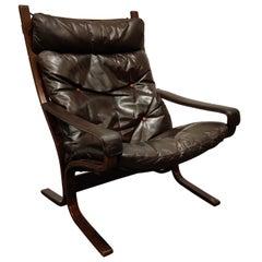 Midcentury Armchair by Ingmar Relling for Westnofa, 1970s