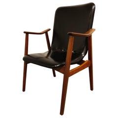 Mid Century Armchair by Louis Van Teeffelen for Wébé, 1960s