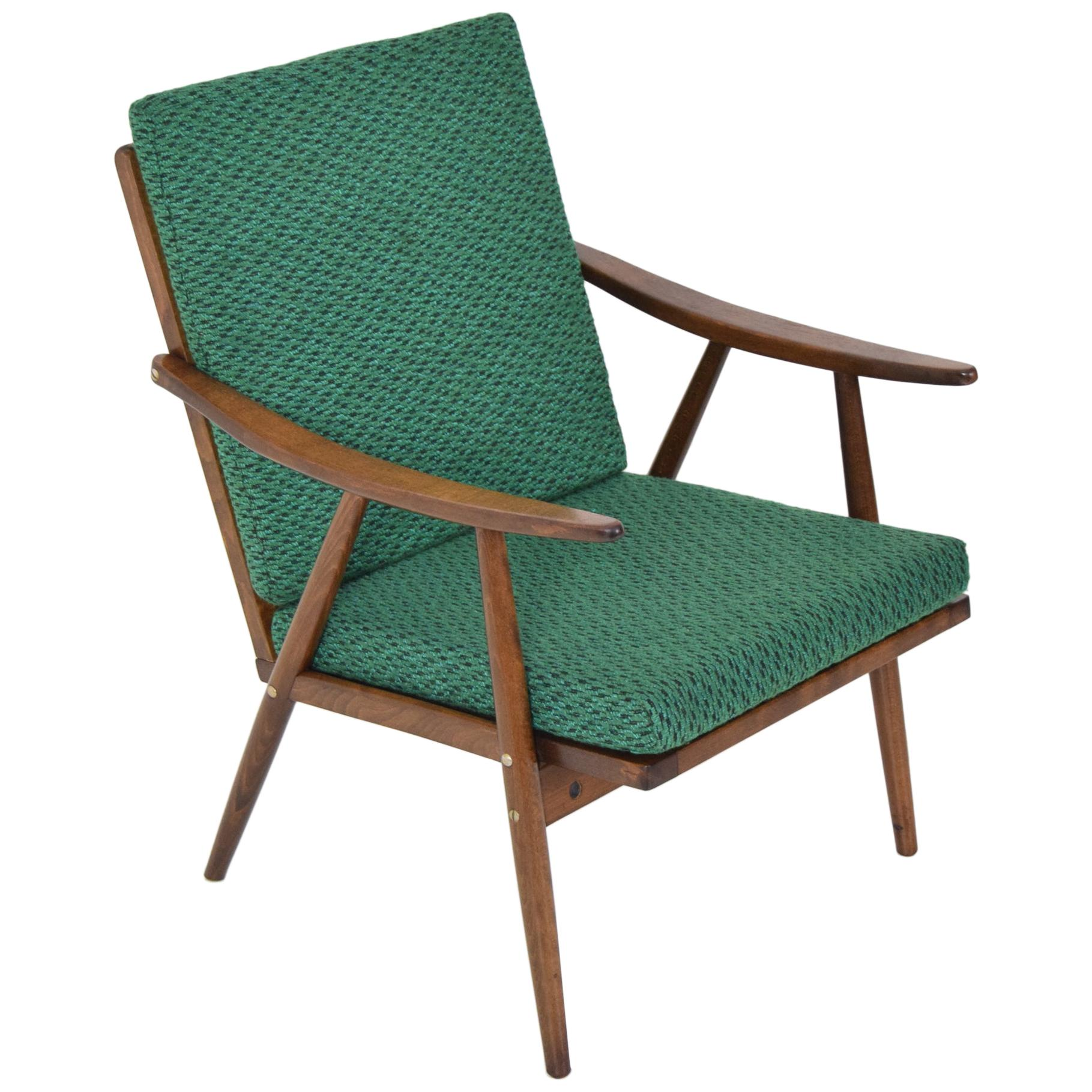 Midcentury Armchair by Ton, 1960s