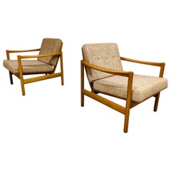 Mid Century Armchairs by Knoll Antimott, 1960s