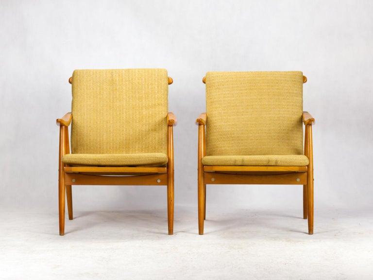 Mid-Century Modern Mid Century Armchairs by TON Czechoslovakia, 1960s For Sale