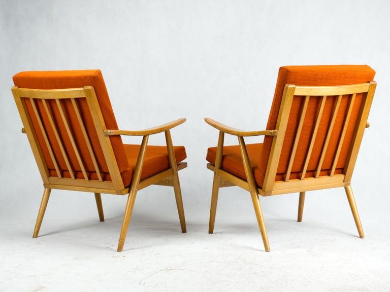 20th Century Mid Century Armchairs by TON Czechoslovakia, 1960s