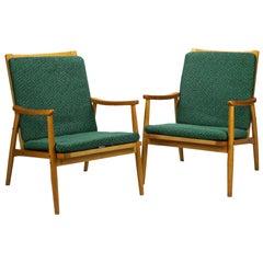 Mid-Century Armchairs by TON Czechoslovakia, 1960s