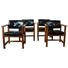 Midcentury Armchairs Set of 4