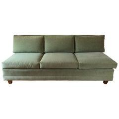 Midcentury Armless Sofa