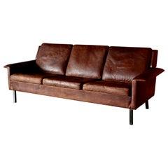 Midcentury Arne Vodder Sofa by Fritz Hansen