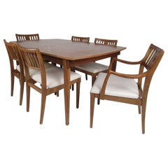 """Midcentury """"Artistry"""" Dining Table and Chairs by Drexel"""