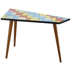Midcentury Asymmetrical Coffee Table, 1970s