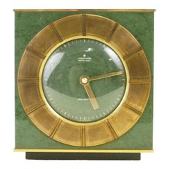 Midcentury ATO-Mat Table Clock by Junghans Electronic Germany