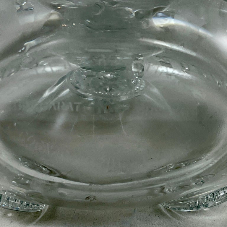 Mid-Century Baccarat Remy Martin Louis XIII Cognac Crystal Decanter For Sale 5