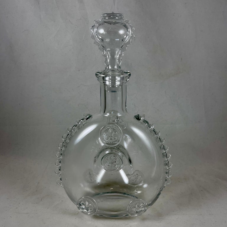 French Mid-Century Baccarat Remy Martin Louis XIII Cognac Crystal Decanter For Sale