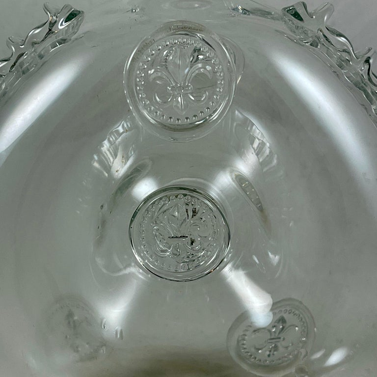20th Century Mid-Century Baccarat Remy Martin Louis XIII Cognac Crystal Decanter For Sale