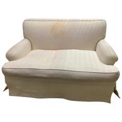 Mid-century Baker Upholstered Loveseat or Sofa