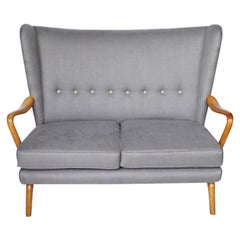 Mid-Century Bambino Two-Seat Sofa by Howard Keith for H.K Furniture