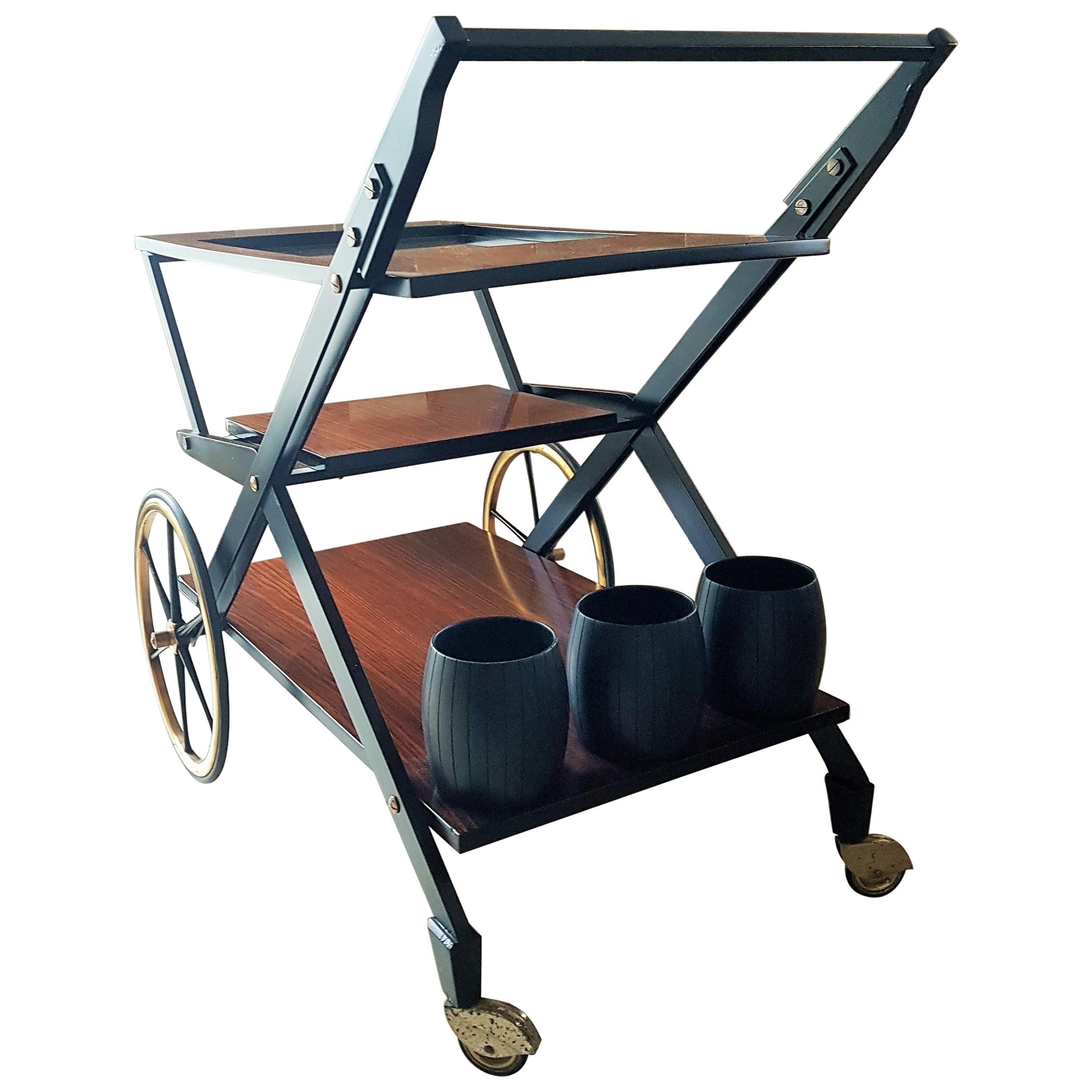 Midcentury Bar Cart style Tecno Borsani, Italy, 1960s