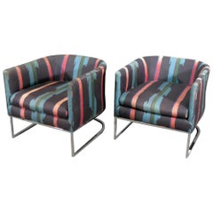 Midcentury Barrel Chairs