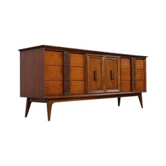 "Midcentury Bassett Dresser from the ""Mayan"" Collection"