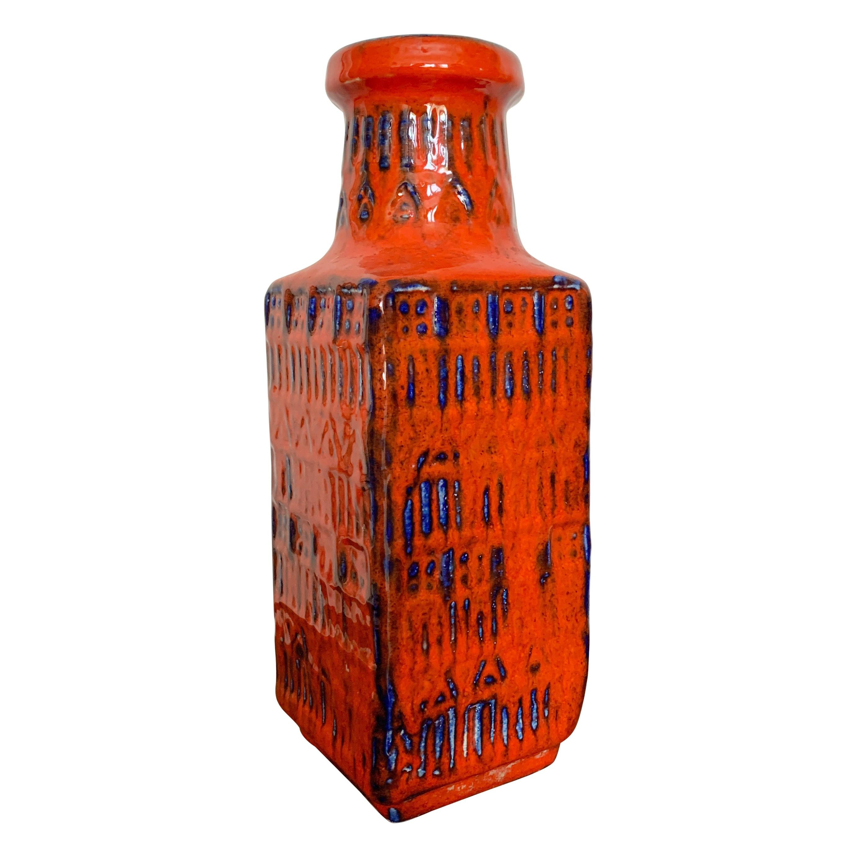 Midcentury Bay Keramik Vase, West Germany