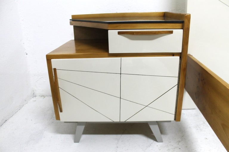 Midcentury Bedroom Set, Expo 58, Czechoslovakia For Sale 4