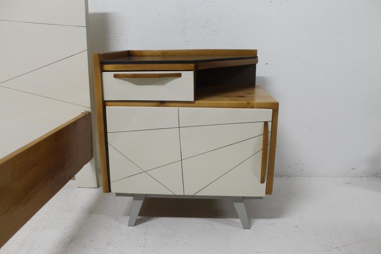 20th Century Midcentury Bedroom Set, Expo 58, Czechoslovakia For Sale