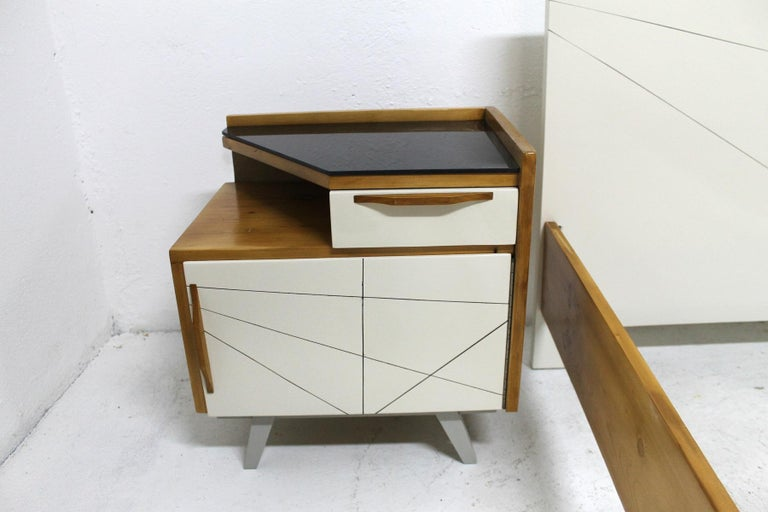 Midcentury Bedroom Set, Expo 58, Czechoslovakia For Sale 2