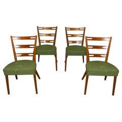 Midcentury Beech Dinnign Chairs, Czechoslovakia, 1960s