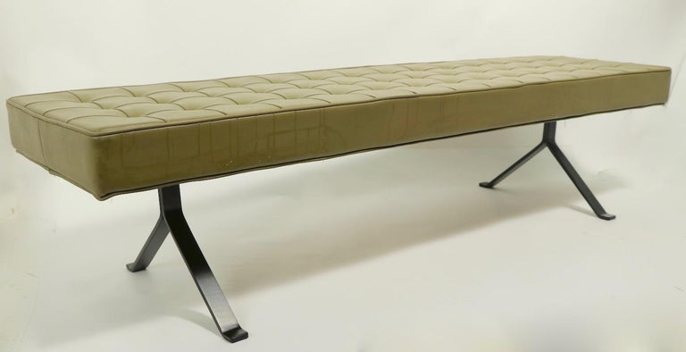 Mid Century Bench For Sale 6
