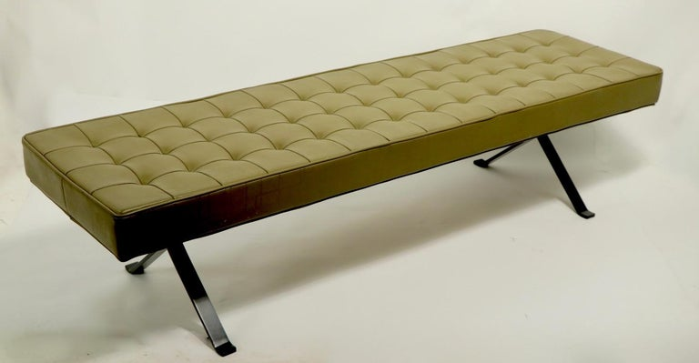 Mid Century Bench For Sale 8