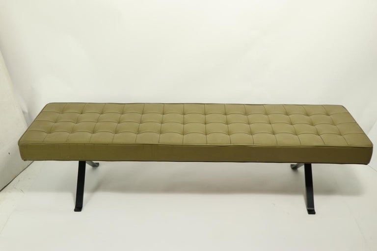 American Mid Century Bench For Sale