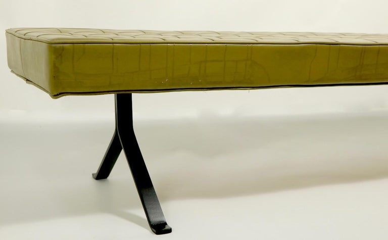 Mid Century Bench For Sale 1