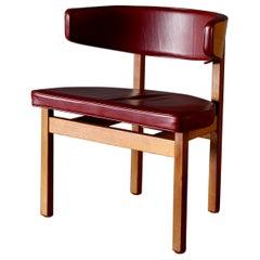 Midcentury Børge Mogensen Chair by Fredericia