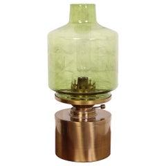 Midcentury Brass Lamp, Model L-47 by Hans Agne Jakobsson