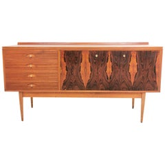 "Midcentury British ""Hanover"" Sideboard by Archie Shine, 1960s"