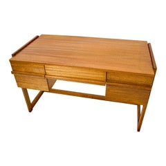Midcentury Brown Saltman Desk by Paul Laszlo
