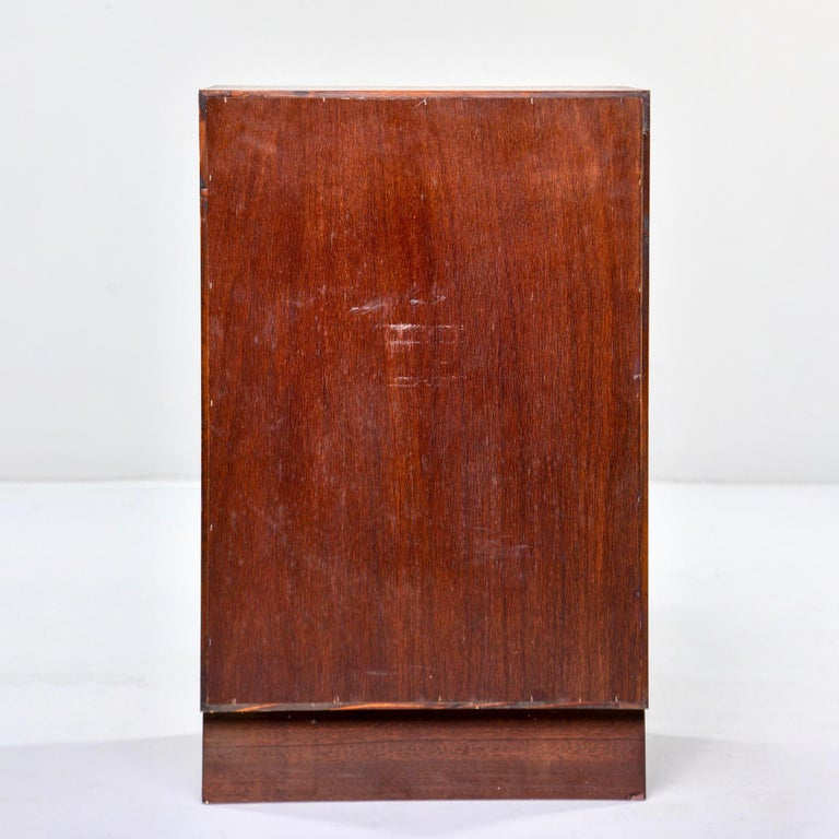 20th Century Midcentury Bruksbo of Norway Rosewood Side Cabinet with Drawers For Sale