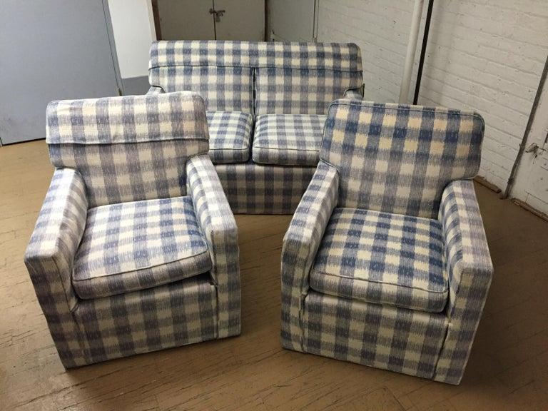 Mid -Century Brunschwig & Fils  Kravet Furniture Loveseat or Sofa For Sale 3