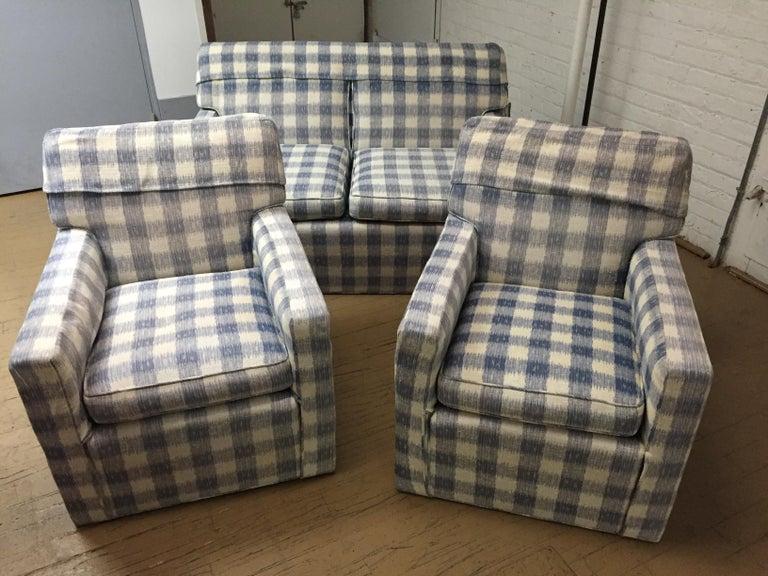 Mid -Century Brunschwig & Fils  Kravet Furniture Loveseat or Sofa For Sale 4