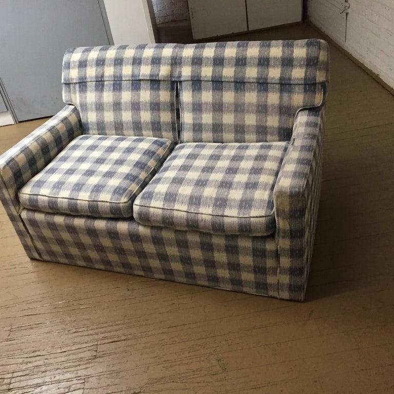 American Mid -Century Brunschwig & Fils  Kravet Furniture Loveseat or Sofa For Sale