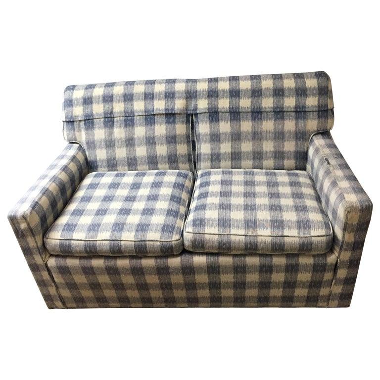 Mid -Century Brunschwig & Fils  Kravet Furniture Loveseat or Sofa For Sale