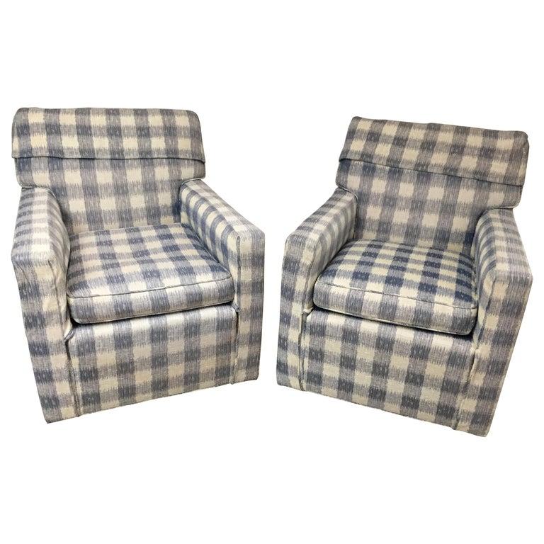 Mid Century Brunschwig And Fils Upholstered Kravet Furniture